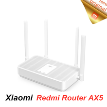 New Xiaomi Redmi Router AX5 Wifi 6 2.4G/5.0GHz dual Frequency Mesh network Wireless Router Wifi Repeater 4 High Gain Antennas(China)