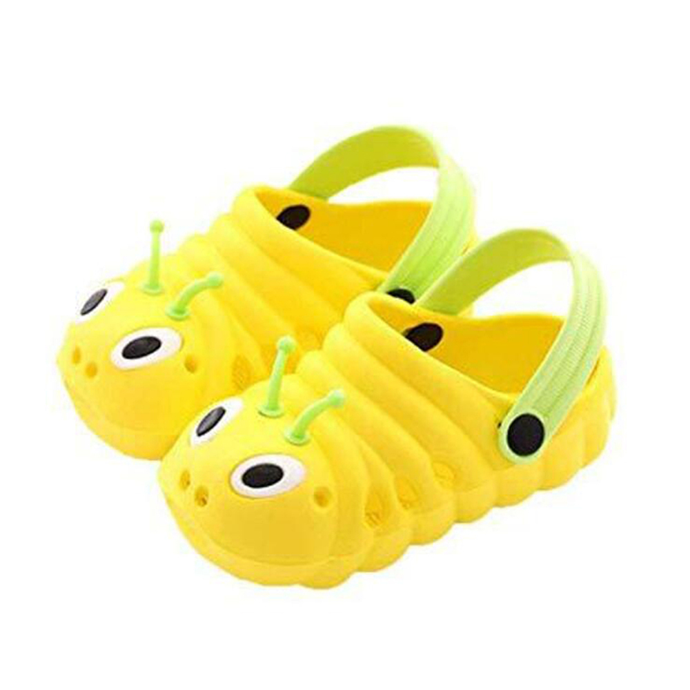 Toddler Kid Girl Boy Casual Sandals Caterpillar Shaped Beach Slippers Flip Shoes