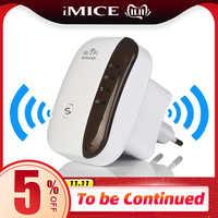 Répéteur WiFi sans fil extendeur Wifi 300Mbps amplificateur WiFi 802.11N amplificateur Wi-fi longue portée répéteur Wi-fi Point d'accès