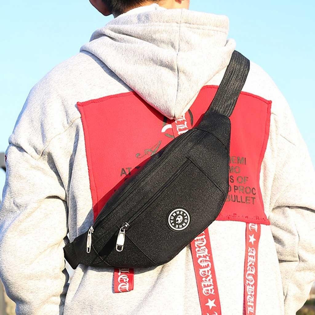 Always Be Yourself Moose Sport Waist Bag Fanny Pack Adjustable For Hike