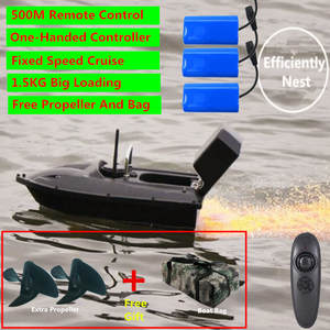 Fishing-Boat Cruise Remote-Control Fixed-Speed RC Wireless Lure 500M One-Key Night-Light