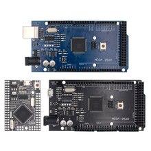 MEGA2560 MEGA 2560 R3 (ATmega2560 16AU CH340G) AVR USB kurulu geliştirme kurulu MEGA2560 arduino için