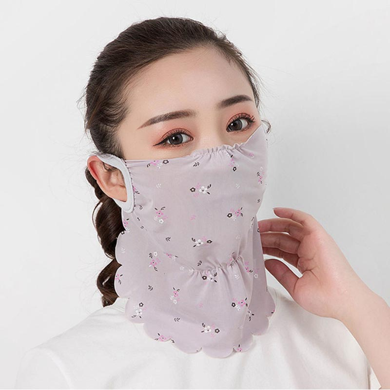 Women Outdoor Sports Bandana Scarf Headwear Hang Ear Face Mask Riding Camping Cycling Running Hiking Scarf Drop Shipping