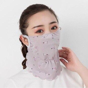 Women Outdoor Sports Bandana Scarf Headwear Hang Ear Face Mask Riding Camping Cycling Running Hiking Scarf Drop Shipping