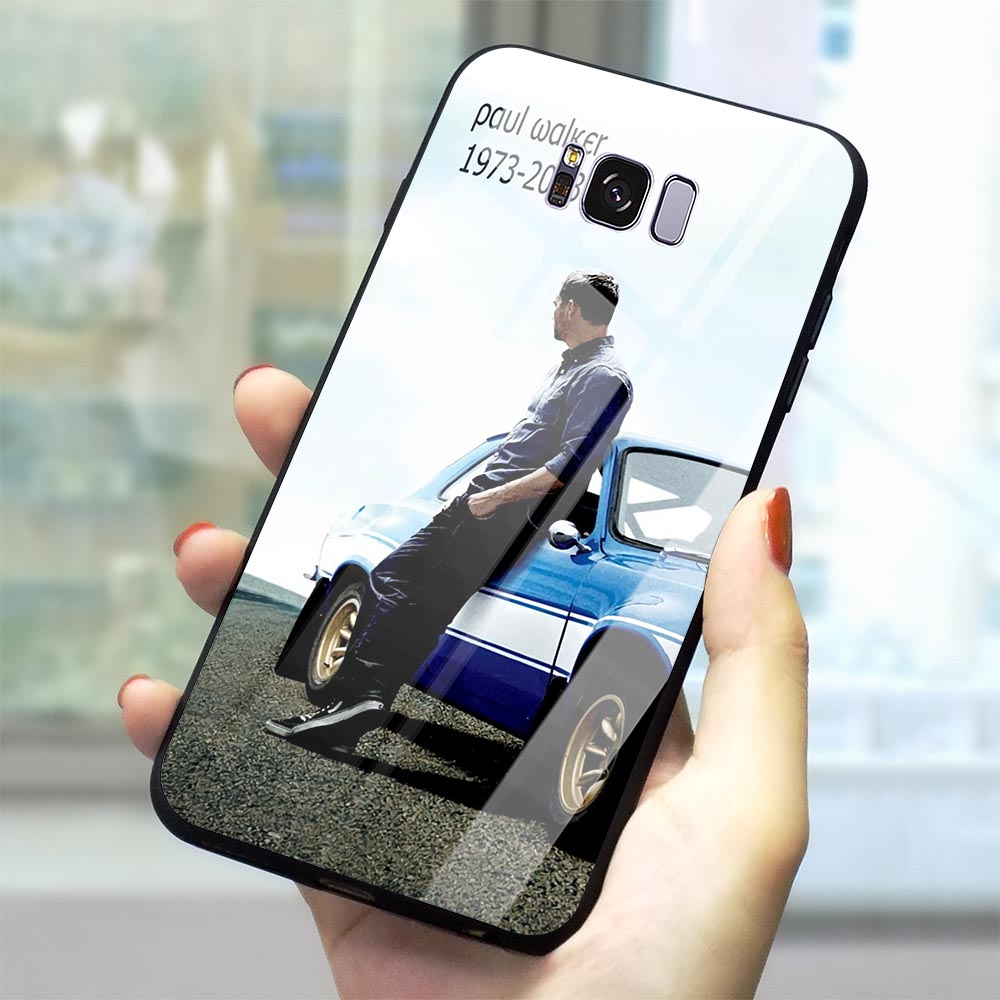 Slim Furious Paul Walker Glass Phone Case for Samsung Galaxy A10 Cover A70 A60 M40 A50 A40 A20 A30 A10 S7 Edge S8 S9 Plus S10 image