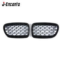 A pair New diamond style Front Kidney Grille For BMW 5 series GT F07 530d 535i 550i Grille Front Bumper Grill Car Styling 2010
