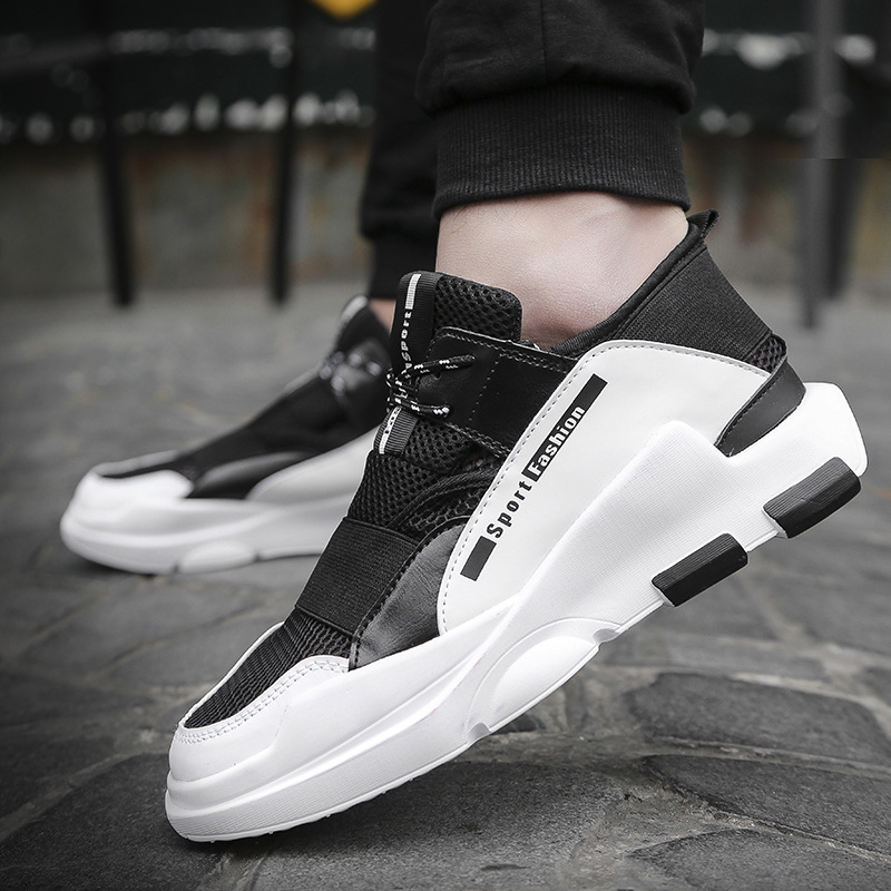 2017 Spring And Autumn New Style Men Shock Absorption Casual Shoes Basketball Shoes Sports Youth Trend Hip-hop Shoes image