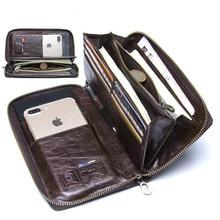 Men's wallet leather designer…