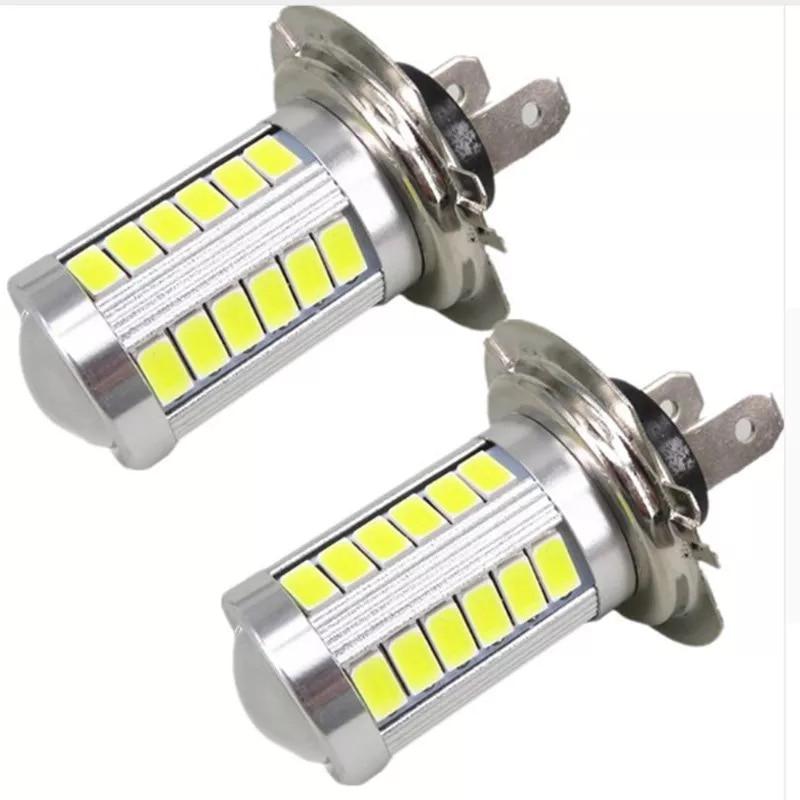 LED Light 33SMD H4 H7 H11 9005 9006 Auto Led Car Fog Lamp Daytime Running Lights Clearance Bulb DC12V Turning Parking Bulbs
