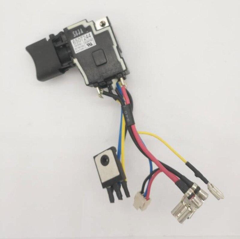 Switch For Makita 6507244 DHP458 DHP448 DDF458 DDF448 BHP458 BHP448 BDF458 BDF448 6507244 6506824