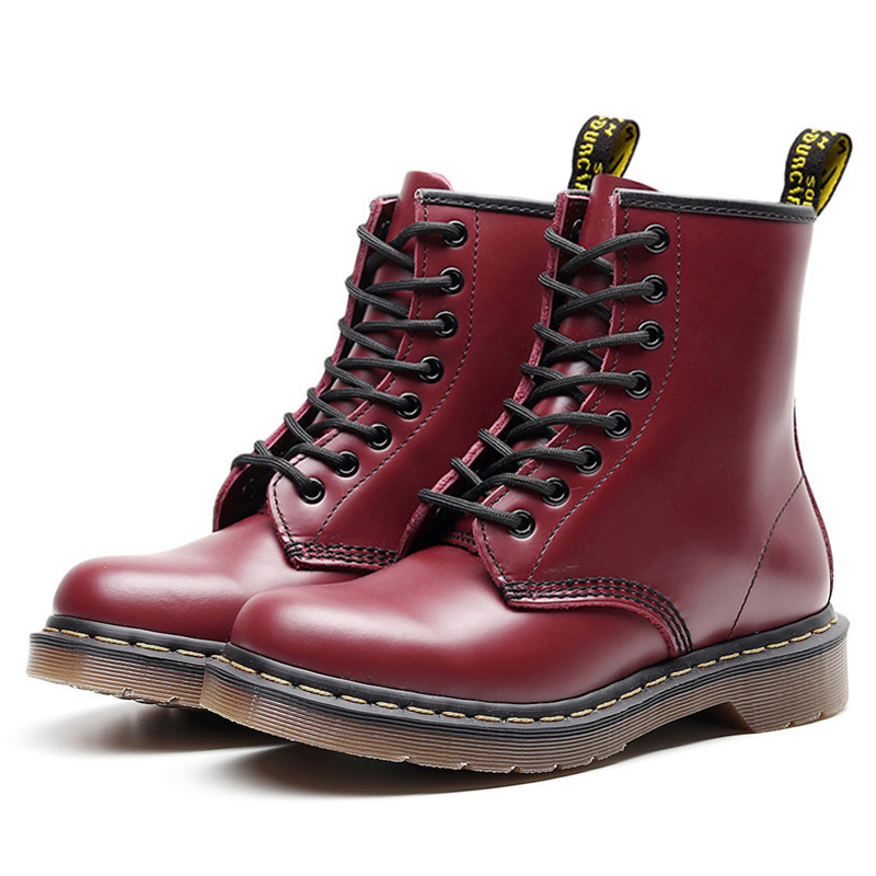 Image 3 - 2019 Women Boots For Martin Boots Plus Size 43 Ankle Boots For Women Dr. Motorcycle Boots Female Winter Shoes Couple Booties-in Ankle Boots from Shoes
