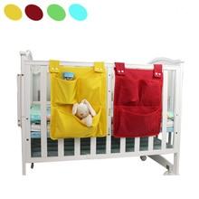 Baby Storage Organizer Crib Hanging Storage Bag Caddy Organizer for Baby Essentials Bedding Set Diaper Storage Bag