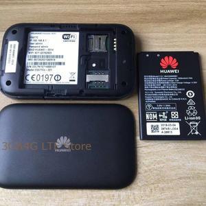 Image 3 - Unlocked yeni HUAWEI E5577 E5377 4G LTE Cat4 E5577Cs 321 E5377s 32 1500mah mobil Hotspot kablosuz WIFI yönlendirici cep