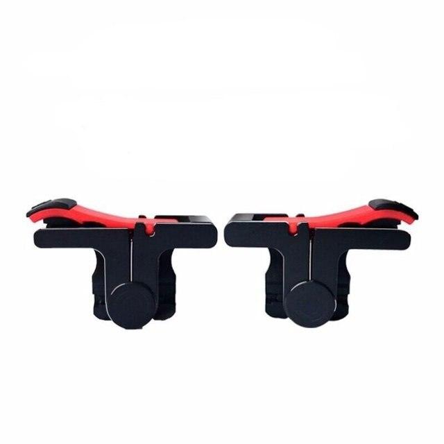 D9Mobile أذرع التحكم في ألعاب الفيديو غمبد البلاستيك L1R1 لوحات المفاتيح الهاتف عصا التحكم الحساسة تبادل لاطلاق النار والهدف المشغلات تحكم المحمول ل pubg 1