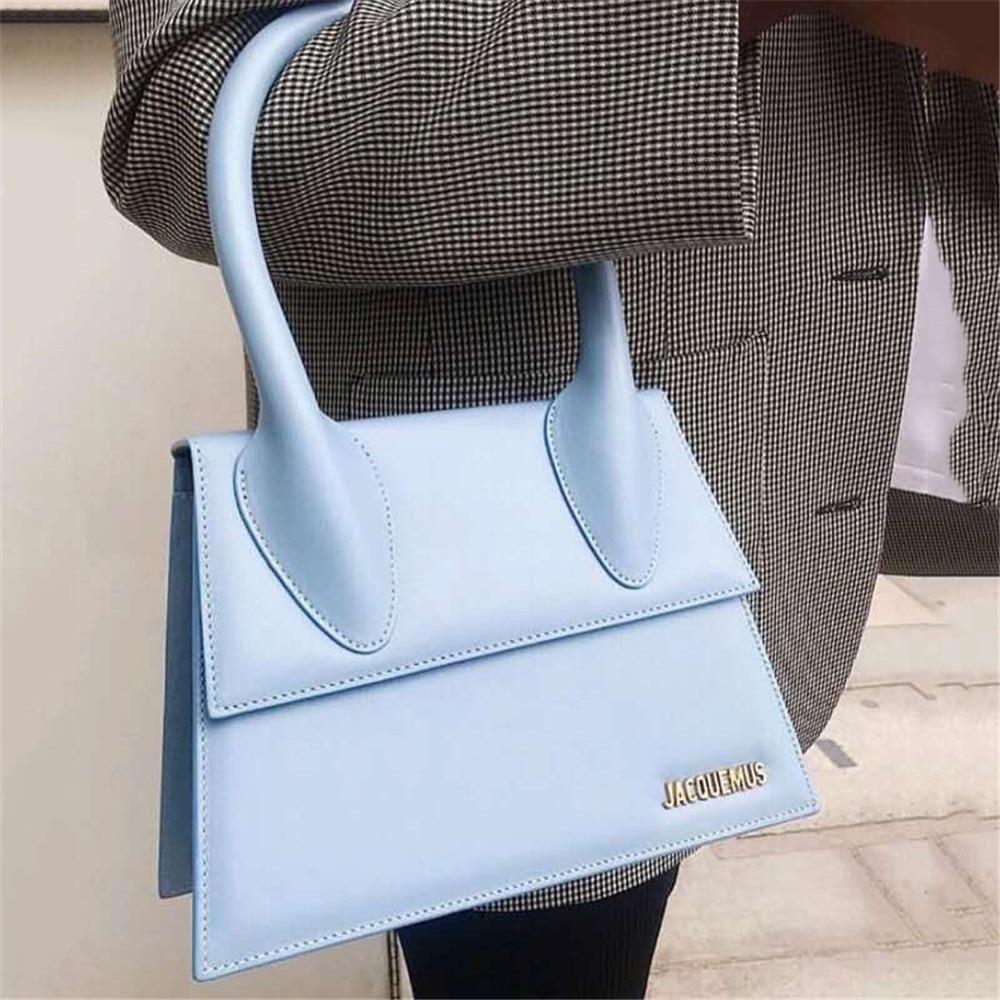 Jacquemus Mini Crossbody Bags For Women 2020 High Quality PU Leather Messenger Bag Purses And Handbags Small Tote Brand Designer