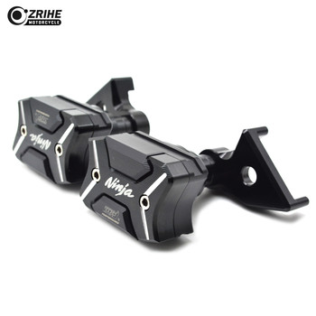 Motorcycle Frame Crash Pads Mortorbike Engine Case Sliders Protector Frame Engine Guard FOR Kawasaki Ninja ZX6R/636 2007-2008