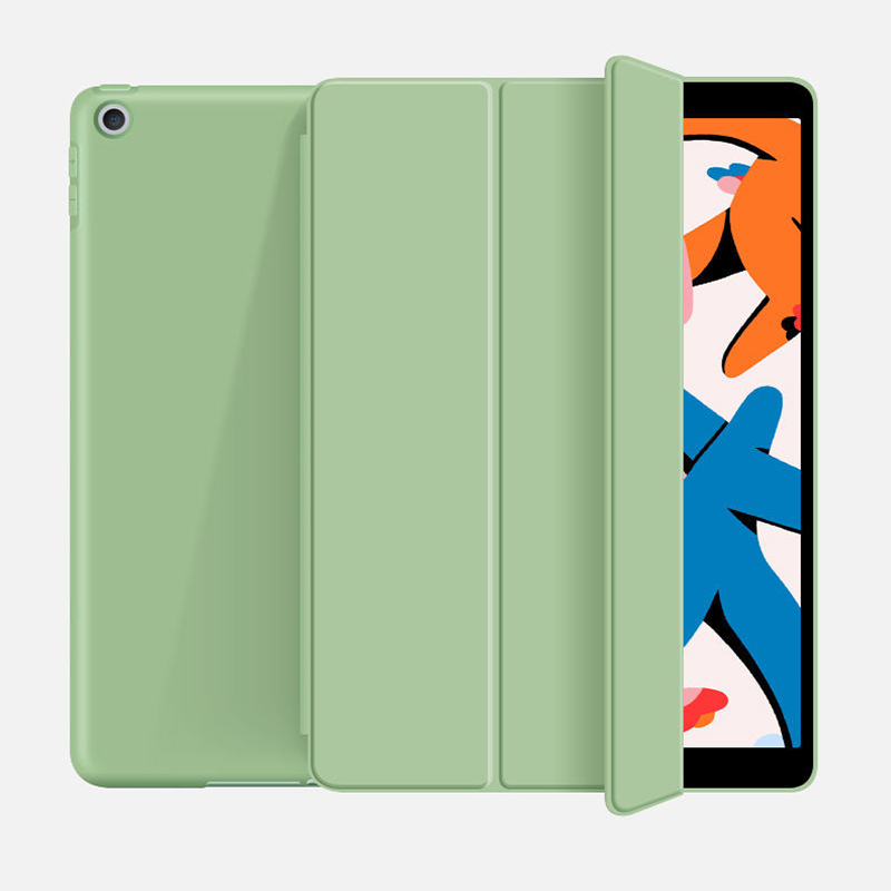 Matcha green Champagne For iPad 10 2 inch 8th 2020 model A2270 Tablet Case for iPad 10 2 inch