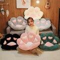 Плюшевые подушки для сиденья INS в виде лап, 6 цветов, новые подушки в форме сердца, животных, кошек, лап, синие, черные, зеленые подушки для пола...