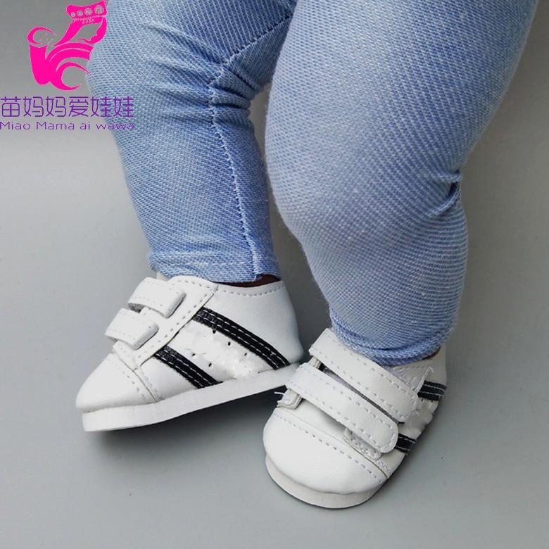 Для 40 см bebe кукольная обувь sneackers подходит для 18 дюймов девочка кукла спортивная обувь ребенок новорожденный кукла аксессуары