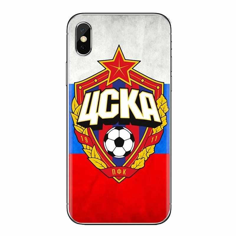 ม้า CSKA มอสโกสำหรับ Oneplus 3T 5T 6T Nokia 2 3 5 6 8 9 230 3310 2.1 3.1 5.1 7 Plus 2017 2018 นุ่มโปร่งใสเปลือกครอบคลุม