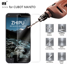25 Pcs Tempered Glass for CUBOT Manito Screen Protector 2.5D Phone Protective Screen Protector for CUBOT Manito MTK6737 Glass hard case back cover for cubot manito transparent black