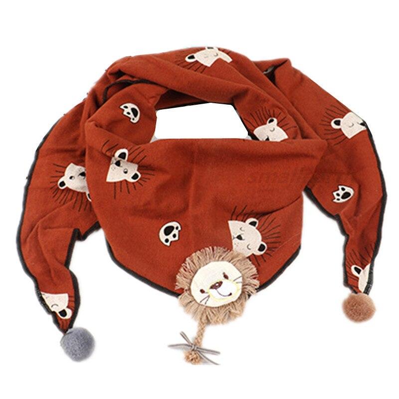 Весенние клетчатые треугольные шарфы в горошек для маленьких девочек; осенне-зимняя шаль для мальчиков и девочек; Детские хлопковые воротники; теплый детский шейный платок - Цвет: B6