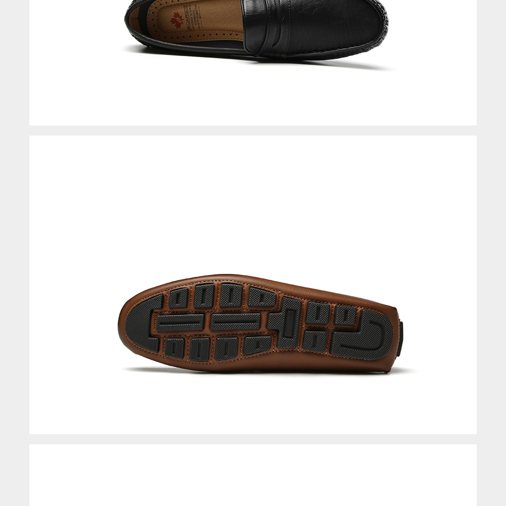 H687495bbcadf46c4bc8f2f2140903fe6D Men's Casual Shoes Men Moccasins Autumn Fashion Driving Boat Shoes Male Leather Brand Slip-On Classic Men's shoes Loafers
