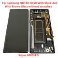 AMOLED d'origine avec cadre pour Samsung Galaxy NOTE 8 LCD N950A N950U N950F N950V écran tactile assemblée avec des points noirs|Écrans LCD téléphone portable| |  -