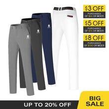 Мужские брюки для гольфа осенняя зимняя одежда дышащая Спортивная