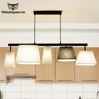Chinese Classical Chandelier Lighting Contemporary Simple LED Creative Kitchen Hanging Lamp Design Bedroom Ceiling Chandeliers
