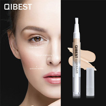 QIBEST Concealer Waterproof Make Up Long Lasting Face Contouring Pore Acne Full Cover Liquid Makeup Beauty Cosmetics