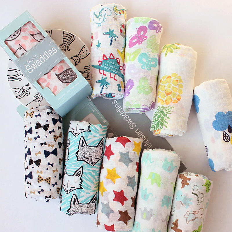 Muslin Newborn Bag Towel Cotton Baby Bath Towel Baby Gauze Blanket Baby Bag