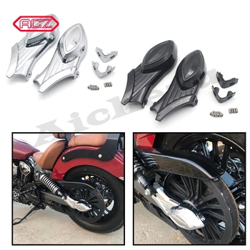 Motorcycle Chrome Rear Swingarm Cover Axle Bolt Cover For Indian Scout Models 2015 2016 Accessories Decorate New