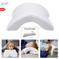 QCZX u-образная подушка для шеи медленный отскок Подушка надувная подушка из пены памяти постельные принадлежности многофункциональная поду...