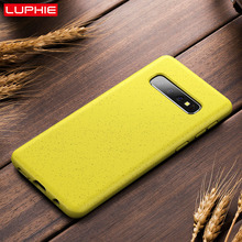 LUPHIE Eco-friendly Silicone Case For Samsung Galaxy S10 Plu