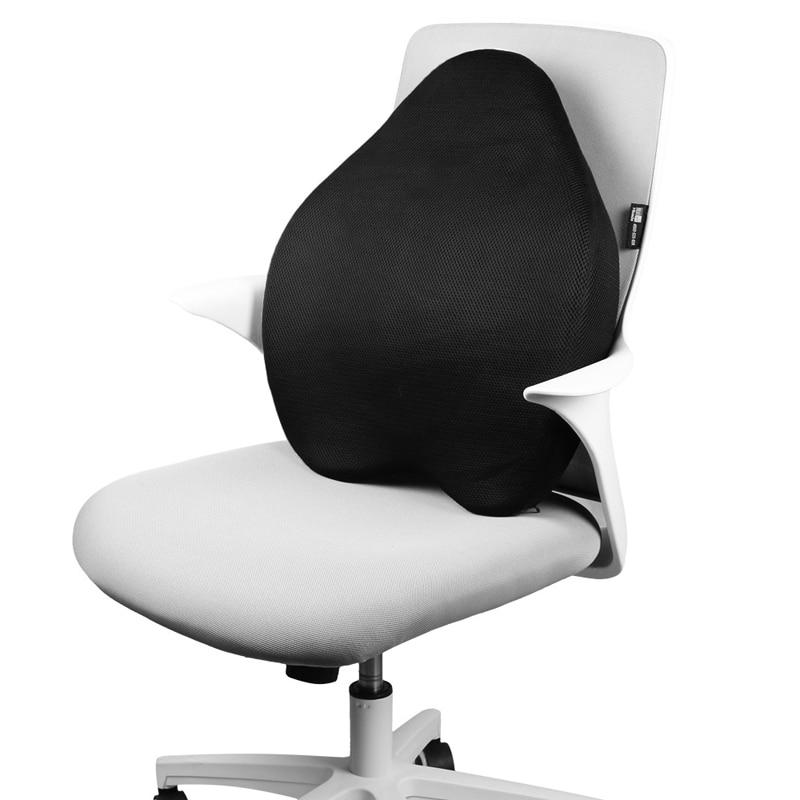 Adjustable Lumbar Support Cushion Home Office Chair Car Seat Lumbar Waist Backrest Massager Spine Cushion Pillow Grey Ergonomics Braces Supports Beauty Health Aliexpress