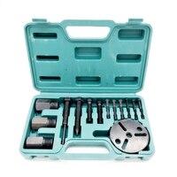 A/C R134a R12 Compressor Clutch Hub Puller Kit Remover & Installer Repair Tool Set