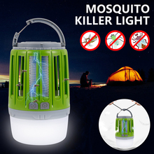 2 In 1 USB Rechargeable LED Mosquito Killer Light Night Light Bug Insect Lights Killing Pest Repeller Camping Lamp