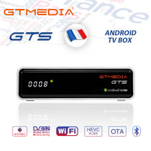 Gtmedia Gts 4K Android Tv Box Receptor DVB-S2 Bluetooth Satellietontvanger Ondersteuning Cline M3u Tv Box Pk Freesat V8 nova(China)