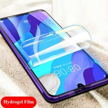 Hydrogel Film For Huawei Y6p Y 6 p Screen Protector For Huawei Y5p Y9s Y6s 2020 y 5 p y 9 6 s Full Cover Soft Films Not Glass(China)