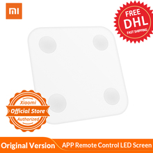 Xiaomi Balanza De Peso inteligente versión Original humana BFR relación de grasa corporal medición Balanza de peso APP Control remoto pantalla LED