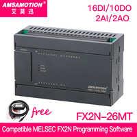 Förderung!!! Kompatibel MELSEC FX2N PLC 2AI/1AO 16DI/10DO MODBUS funktion USB-SC09-FX Kabel für Freies Mitsubishi FX2N-26MT