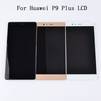 For Huawei P9 Plus LCD Display Digitizer Touch Screen Assembly with Frame VIE-L09 VIE-L29 Display Panel Replacement цена 2017