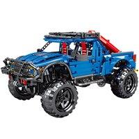 Technic blocks Technical Series Raptor Pickup Model Building Blocks technic Set Classic Toys For Children Kids Gifts