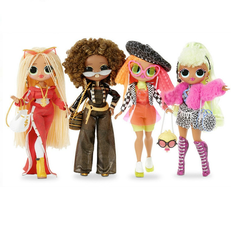 Hot LOLs Surprise Doll OMG Crystal Star Winter Disco Crystal Star Collectible Edition Fashion Doll Girl Toy Gift Birthday Gift image