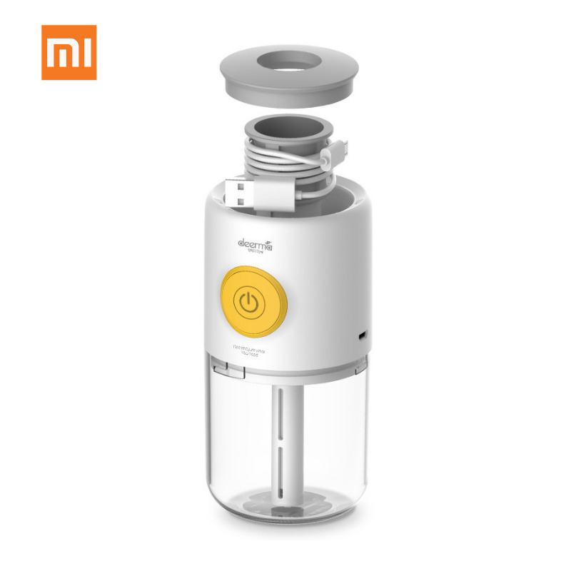 New Xiaomi Deerma Mini USB Aroma Essential Oil Diffuser Ultrasonic Aromatherapy Air Humidifier For Home Office