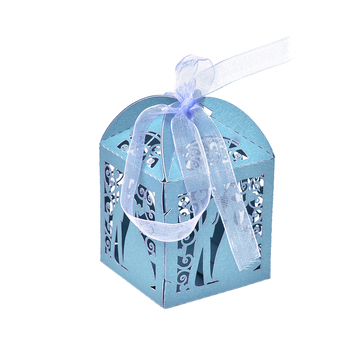 10pcs/lot Casamento Candy Box/Bombonera/candy Jar, Candy Packaging/wedding Gift/cart/chocolate Box, Bonbonniere Party image