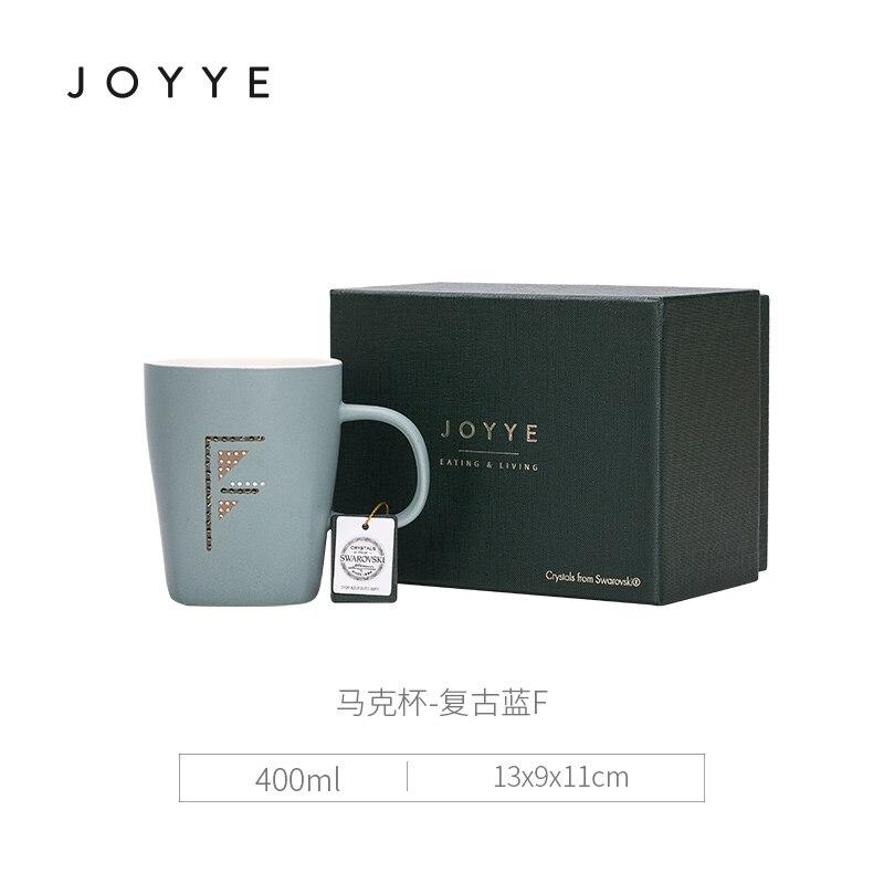 Di ceramica Creativa Tazza di Caffè Paio di Lettere Bone China Mug Tazza di Avere UN Bel Giorno Tazza di Stile Giapponese Originale Creativo Tazze di Ceramica MK72 - 6