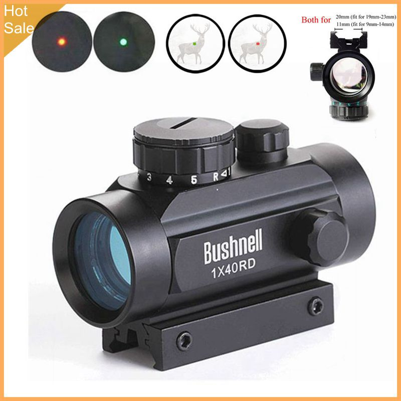 11mm 20mm Rail Holographic Riflescope Hunting Optics Red Dot Sight Tactical Scope Crossbow Riflescope Tactical Shot GunRiflescopes   -