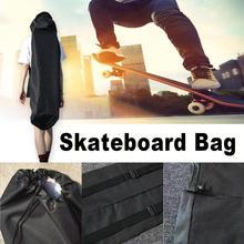 1pc Skateboard Bags Oxford Fabric Longboard 120cm Backpack Electrical